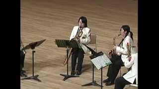 2008/03/20 全日本アンサンブルコンテスト 玉名女子高等学校サクソフォン四重奏.