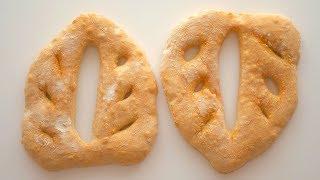"""Хлеб """"Фугас"""" из картофельного теста"""