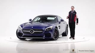 $112k 2017 Mercedes-Benz AMG GT S Coupe Brilliant Blue Metallic   (P6069A)