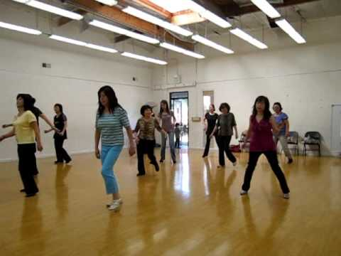On The Sunny Side Of The Street Line Dance (Demo & Walk ...