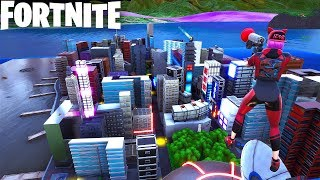 MINI BATTLE ROYALE MAP in Fortnite Creative (Codes in Comments) HONEY I SHRUNK NEW YORK!
