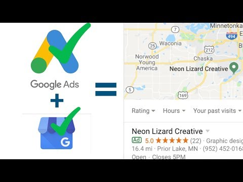 DOMINATE LOCAL SEO: How To Advertise Google My Business Reviews On Adwords With Location Extensions