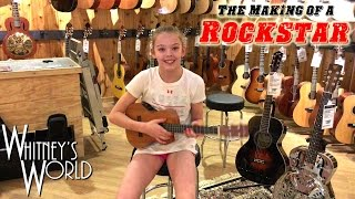 The Making of a Rockstar | First Step - Guitar Lessons | Whitney Bjerken