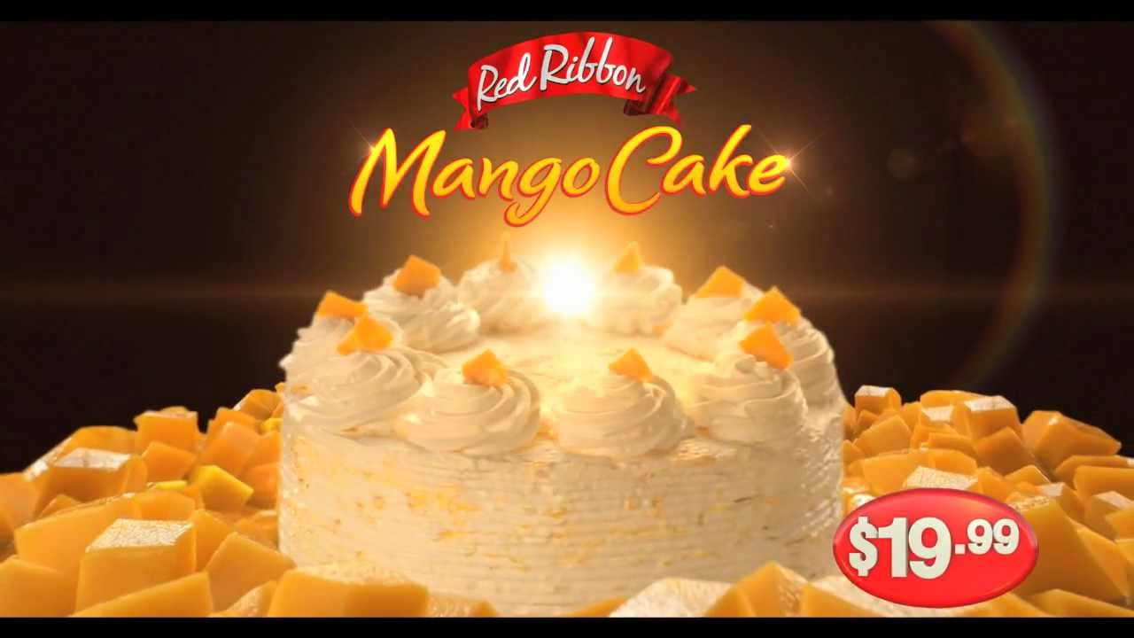 Mango Cake Roll Red Ribbon