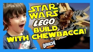 Lego STAR WARS Wookie Gunship LIVE Build | Banchi Brothers Toy Review thumbnail