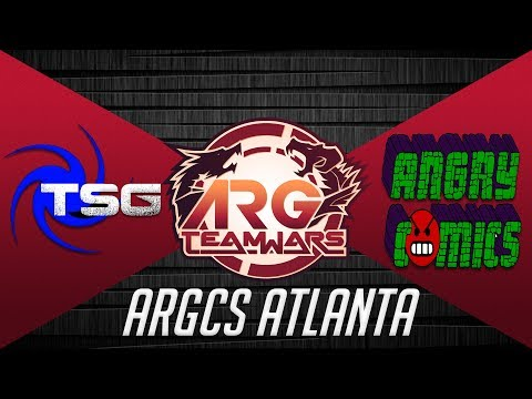 ARGCS Atlanta 2017 Team War Team Shenanigans Gaming vs Angry Comics