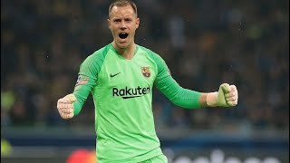 Goalkeeper Assist (Marc-Andre ter Stegen) Barcelona