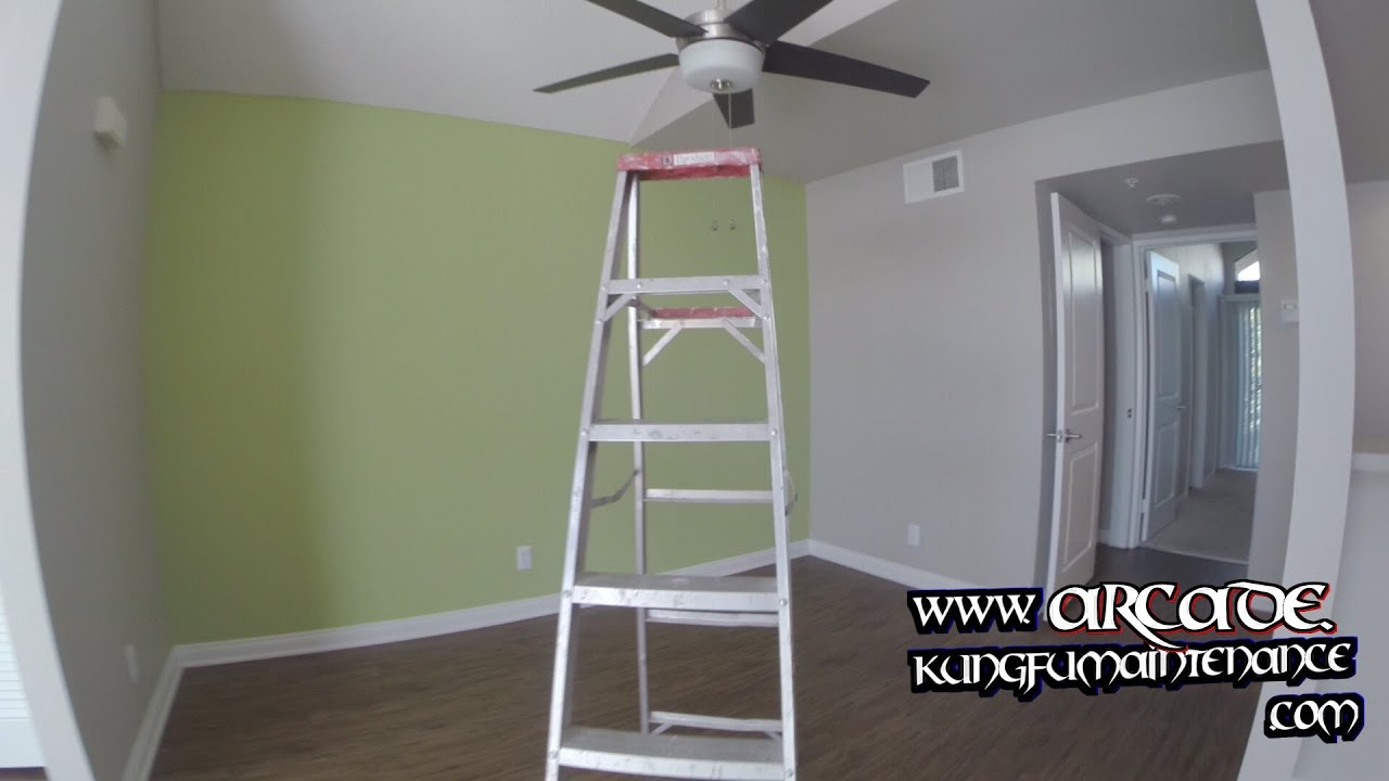 Remodeling Details Setting Falling Angled Mount Ceiling Fan Trim Plate Renovation