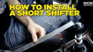 How To Install A Short Shifter