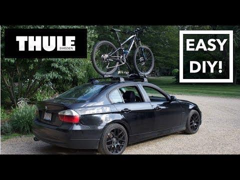 Thule AeroBlade & ProRide Install // BMW E90 - YouTube