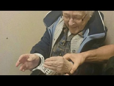 Thumbnail: Cops Arrest 99-Year-Old Woman To Cross It Off Her Bucket List