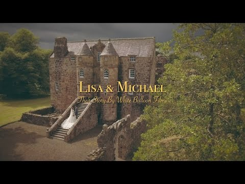 Rowallan Castle Wedding Video With Amazing Phantom 4 Drone Footage!