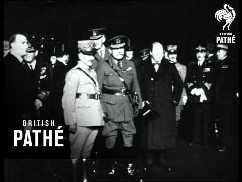General Diaz Arrives At Victoria - Alternative Version. (1919)
