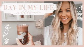 DAY IN MY LIFE  new iced coffee recipe, natural plant fertilizer, &amp organizing our fridge!