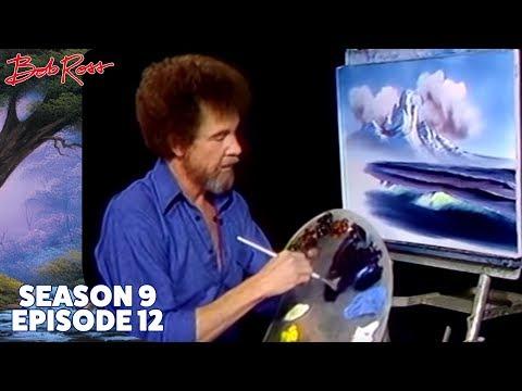 Bob Ross - Mountain by the Sea (Season 9 Episode 12)