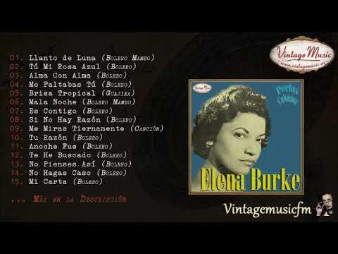 Elena Burke. Colección Perlas Cubanas #17 (Full Album/Álbum Completo) Boleros
