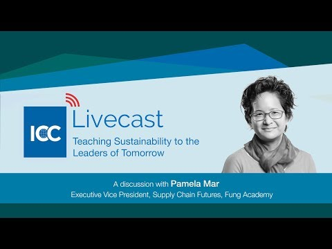 ICC Livecast - Sustainability And Education
