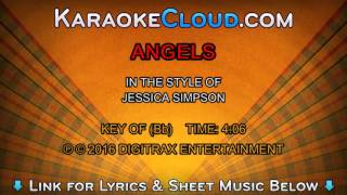 Jessica Simpson - Angels (Backing Track)