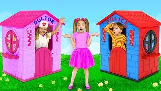 يصبح ساشا بطلاً في المدينة وينقذ الأصدقاء كضابط شرطة وطبيب