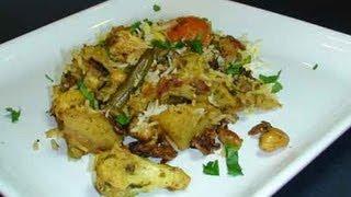 How to make Vegetable Biryani (Part 2) - Indian Rice Recipe