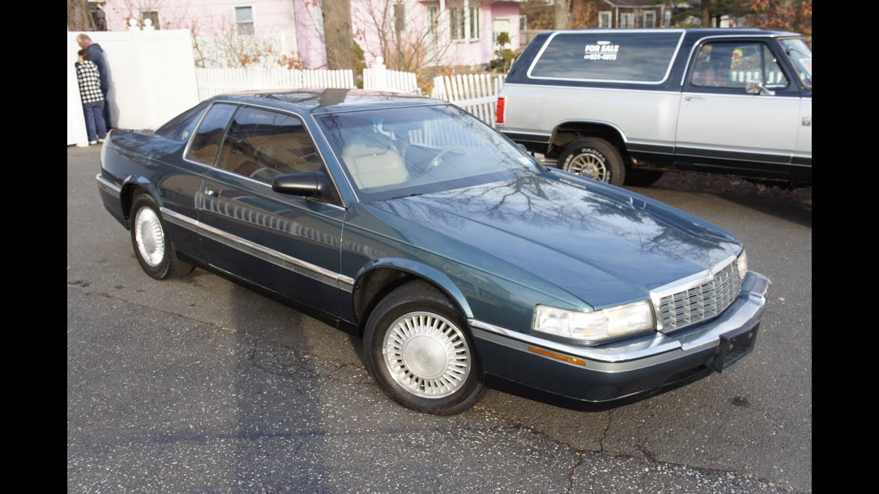 1992 Cadillac Eldorado Touring Coupe For Sale Low Miles