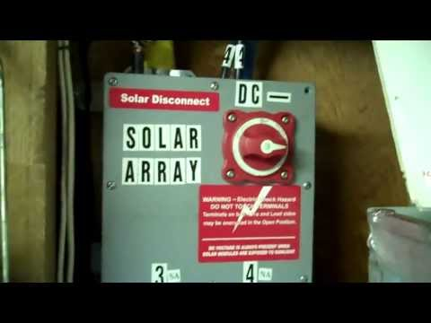 TROUBLESHOOTING.. LOW SOLAR PANEL OUTPUT..SAFETY FIRST...