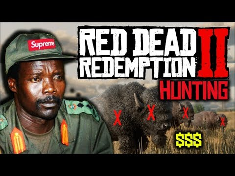 RDR2 Hunting & Killing Animals For Meat! African Rebel Plays Red Dead Redemption 2! NEW UPDATE!