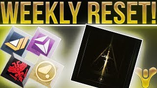Destiny 2. GRIMOIRE RETURNING? Weekly Reset, Faction Rally New Weapons, Milestones, & More!