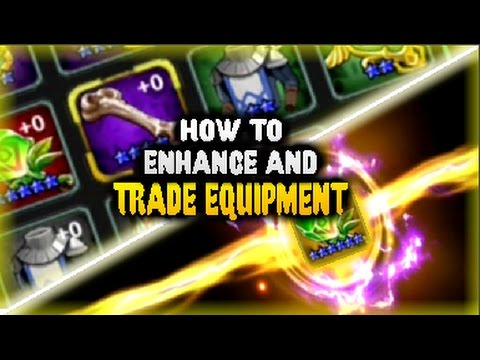 CHAOS CHRONICLE - HOW TO ENHANCE EQUIPMENT AND TRADE EQUIPMENT?!