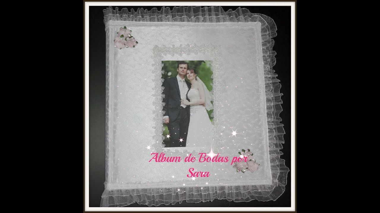 Decora tu album de boda youtube - Album para guardar fotos ...