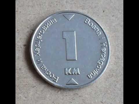 Bosnia and Herzegovina coins Münzen pieces munten monete