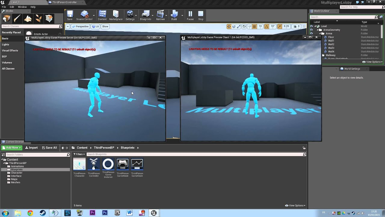 Blueprint youtube tutorial multiplayer lobby unreal engine forums blueprint youtube tutorial multiplayer lobby malvernweather Images
