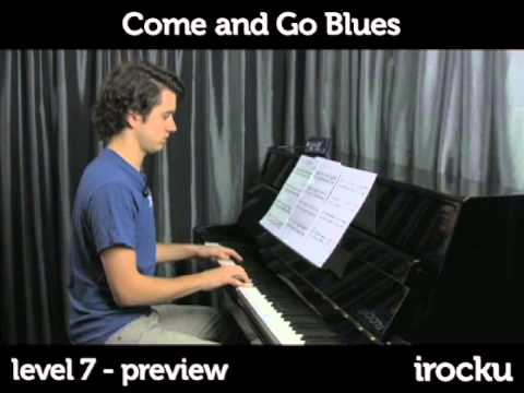 Greg Allman - Come And Go Blues Piano Lesson
