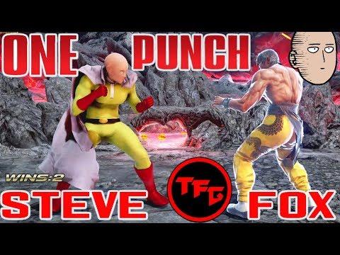TEKKEN 7: ONE PUNCH Steve Fox - Epic Dodges Compilation! 👊👨🦲