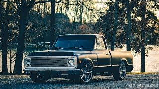 Chevy c10 Truck Build - Black Pearl | THE MOVIE