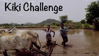 Kiki challenge village farmers style India | my village show