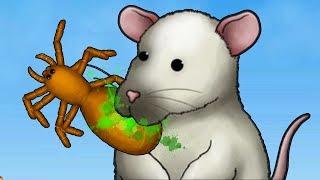 GIANT RAT EATS EVERYTHING!!! - Full Rat Segment - Tasty Planet Forever | Ep 3