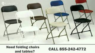 Folding Chairs Los Angeles Ca | 855-242-4772