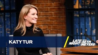 Katy Tur Describes What It Was Like Covering Donald Trump's Campaign