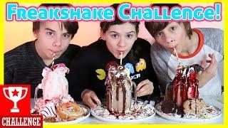 FREAKSHAKE CHALLENGE!     KITTIESMAMA