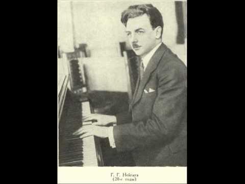 Heinrich Neuhaus plays Rachmaninoff
