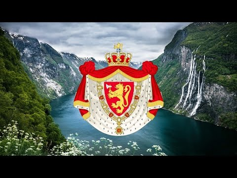 """Kingdom of Norway (1941) Patriotic Song """"Norge i rødt, hvitt og blått"""""""