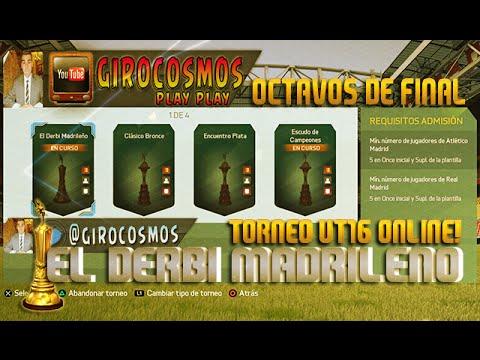 Torneo Fifa UT16 - Torneo online El Derbi Madrileño-  1/8 Final