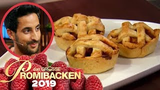 Samis Mini Pie: Er will die rote Schürze! | Verkostung | Das große Promibacken 2019 | SAT.1 TV