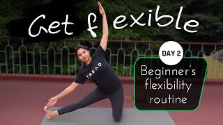 Day 2 of 5 days Daily Stretches for Beginners (Follow Along) | Yoga Sessions For Beginners