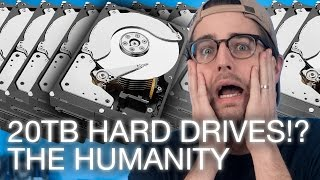 Seagate 14, 16, + 20TB HDDs, HTC Vive Upgrade Cycle, Human-Pig Hybrids