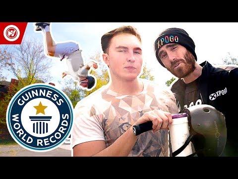 Guinness World Records   Highest Pogo Jump