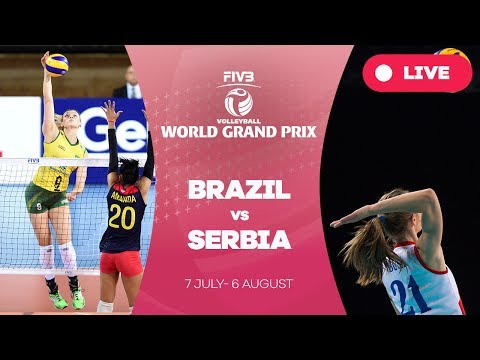 Brazil v Serbia - Group 1: 2017 FIVB Volleyball World Grand Prix