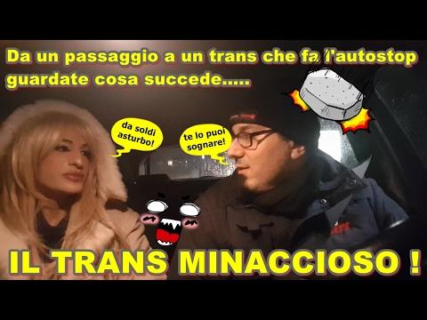 TRANS chiede un passaggio POI MINACCIA l'autista con L'ESTORSIONE,Incredibile!