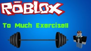 Roblox | Escape The Gym Obby / Running From Exercise!!